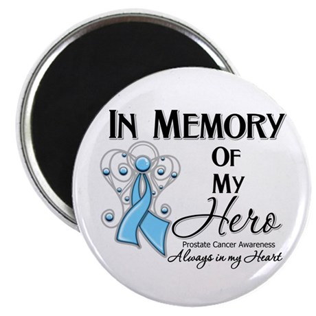 """In Memory Prostate Cancer 2.25"""" Magnet (100 pack)"""