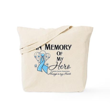 In Memory Prostate Cancer Tote Bag