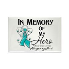 In Memory Peritoneal Cancer Rectangle Magnet