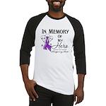 In Memory Pancreatic Cancer Baseball Jersey
