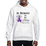 In Memory Pancreatic Cancer Hooded Sweatshirt