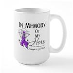 In Memory Pancreatic Cancer Large Mug