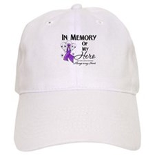 In Memory Pancreatic Cancer Baseball Baseball Cap