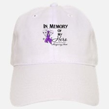 In Memory Pancreatic Cancer Baseball Baseball Cap