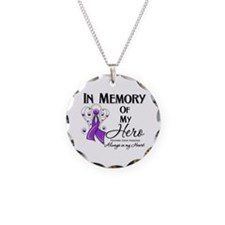 In Memory Pancreatic Cancer Necklace