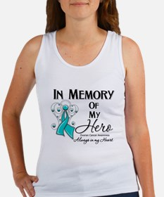 In Memory Ovarian Cancer Women's Tank Top