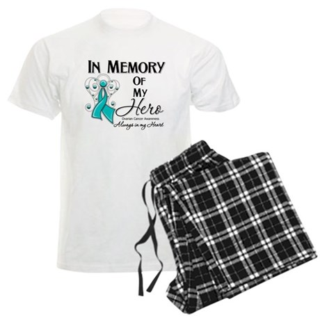 In Memory Ovarian Cancer Men's Light Pajamas