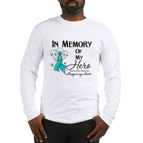 In Memory Ovarian Cancer Long Sleeve T-Shirt