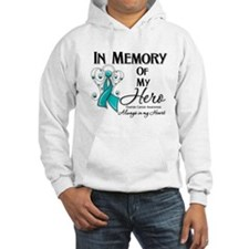 In Memory Ovarian Cancer Hoodie Sweatshirt
