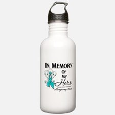 In Memory Ovarian Cancer Sports Water Bottle