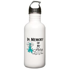 In Memory Ovarian Cancer Water Bottle