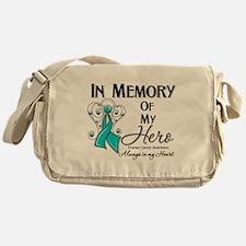 In Memory Ovarian Cancer Messenger Bag