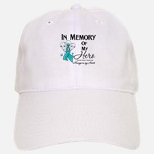 In Memory Ovarian Cancer Baseball Baseball Cap