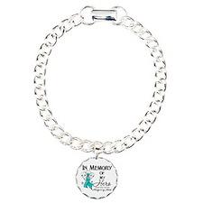 In Memory Ovarian Cancer Bracelet