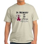 In Memory Multiple Myeloma Light T-Shirt