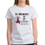In Memory Multiple Myeloma Women's T-Shirt