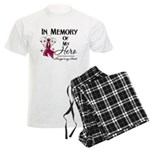 In Memory Multiple Myeloma Men's Light Pajamas
