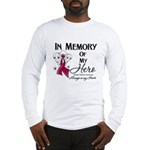 In Memory Multiple Myeloma Long Sleeve T-Shirt