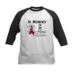 In Memory Multiple Myeloma Kids Baseball Jersey