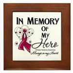 In Memory Multiple Myeloma Framed Tile