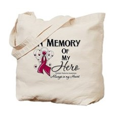In Memory Multiple Myeloma Tote Bag