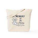 In Memory Mesothelioma Tote Bag