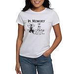 In Memory Hero Melanoma Women's T-Shirt