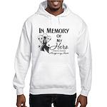 In Memory Hero Melanoma Hooded Sweatshirt