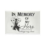 In Memory Hero Melanoma Rectangle Magnet (100 pack