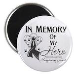 In Memory Hero Melanoma Magnet