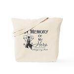 In Memory Hero Melanoma Tote Bag