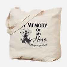 In Memory Hero Melanoma Tote Bag