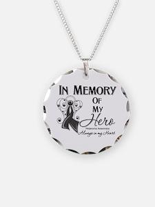 In Memory Hero Melanoma Necklace