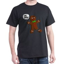 oH Snap, Gingerbread Man T-Shirt