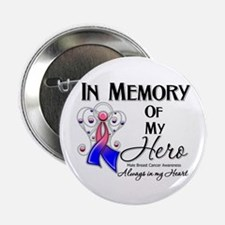 """In Memory Male Breast Cancer 2.25"""" Button"""