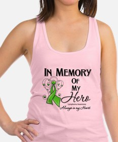 In Memory Hero Lymphoma Racerback Tank Top