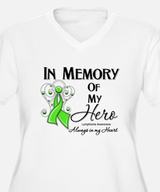 In Memory Hero Lymphoma T-Shirt