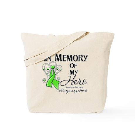 In Memory Hero Lymphoma Tote Bag