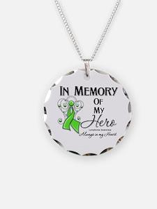 In Memory Hero Lymphoma Necklace