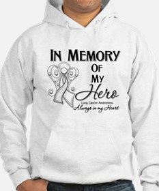 In Memory Lung Cancer Hoodie
