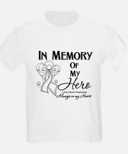In Memory Lung Cancer T-Shirt