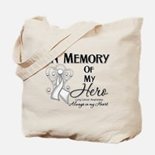 In Memory Lung Cancer Tote Bag