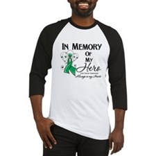 In Memory Liver Cancer Baseball Jersey