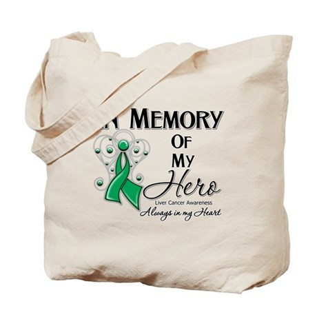 In Memory Liver Cancer Tote Bag