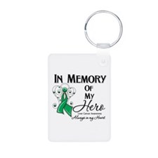 In Memory Liver Cancer Keychains