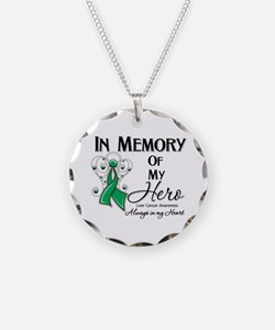 In Memory Liver Cancer Necklace