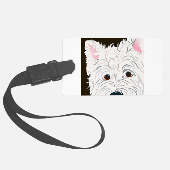 WESTIE3.png Luggage Tag