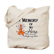 In Memory Hero Leukemia Tote Bag