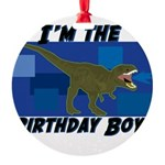 BIRTHDAY-BOY-Tee-1.png Round Ornament