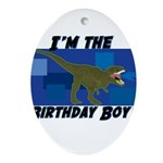 BIRTHDAY-BOY-Tee-1.png Ornament (Oval)